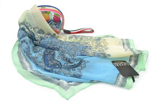 FOULARD DONNA COVERI COLLECTION CACHEMIRE